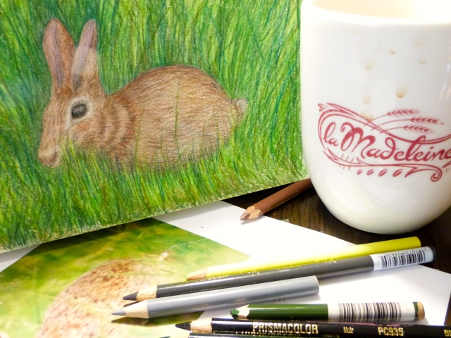 Empty mug, rabbit done.