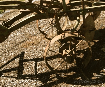 Old plow?